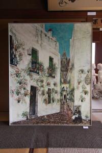 スペイン 花の小道